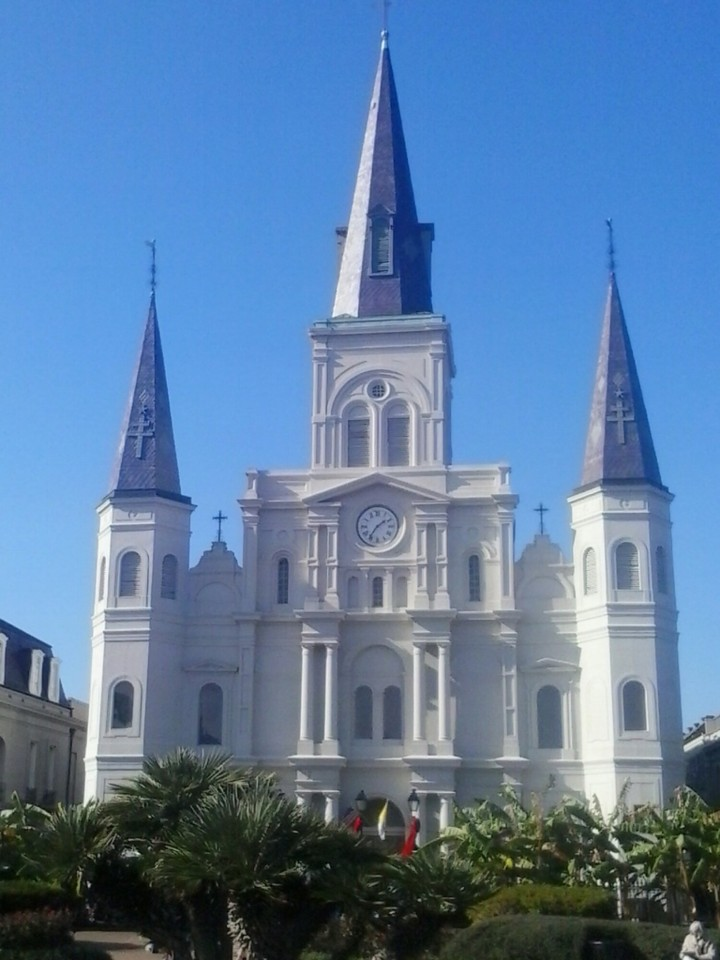 Cathedrale St Louis New Orleans