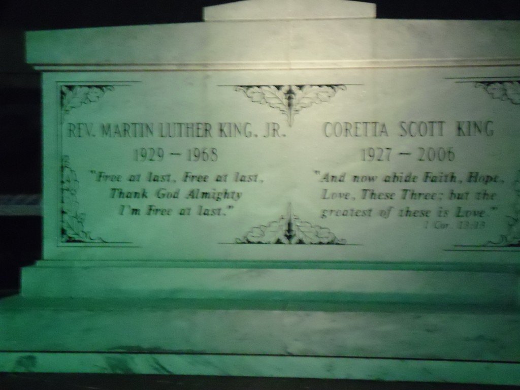Atlanta Martin Luther King grave