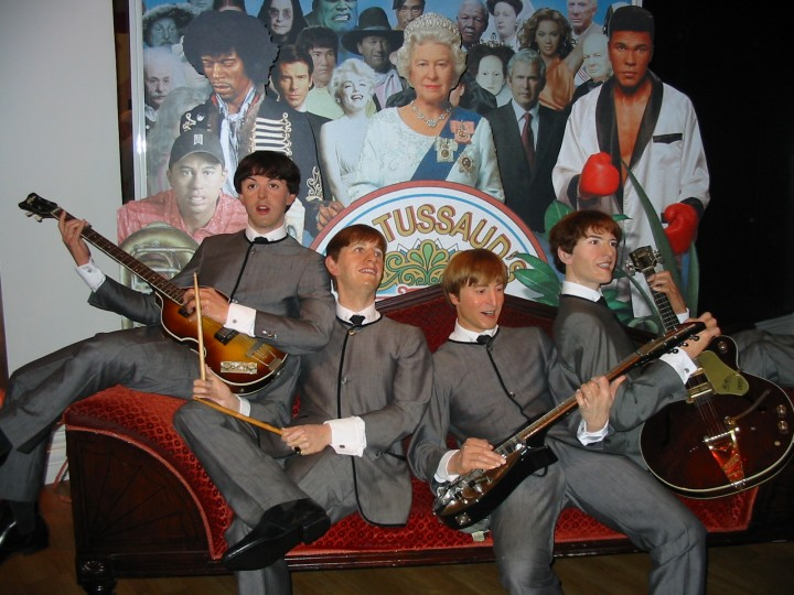 Beatles Mme Tussauds