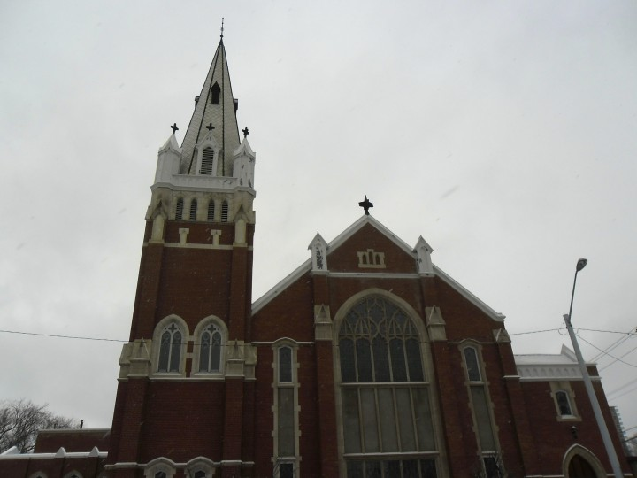 Edmonton church