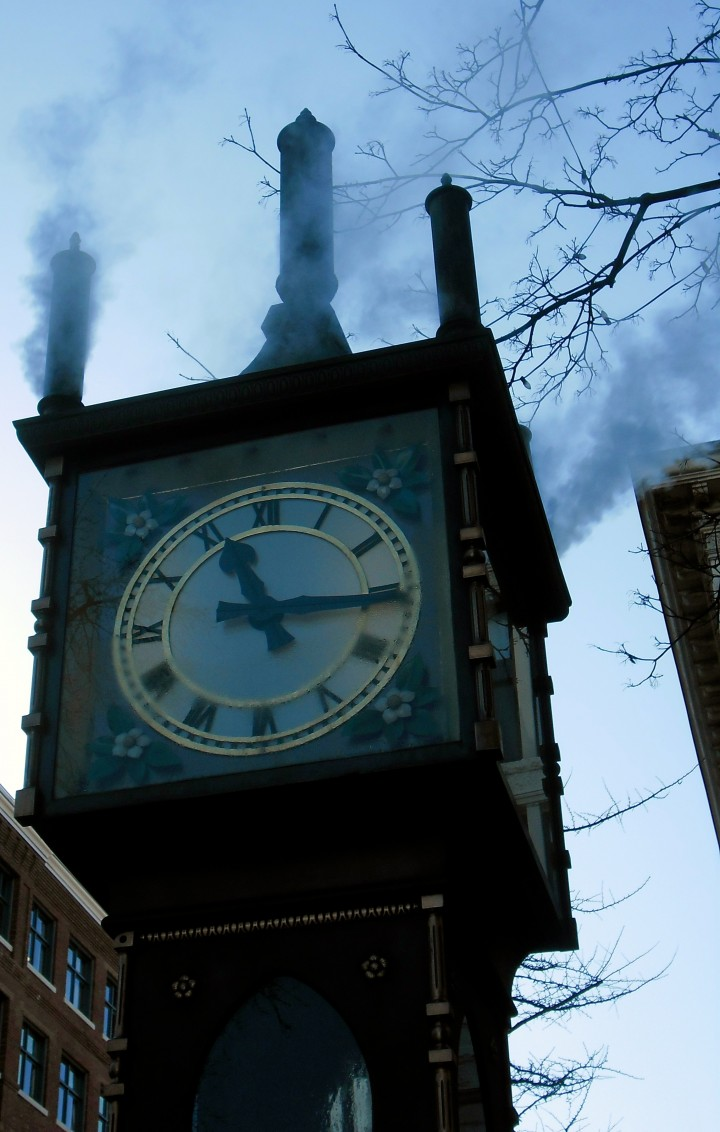 Steam clock Gastown Vancouver