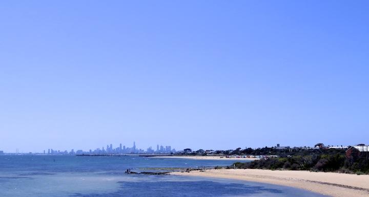 Brighton-Beach-Melbourne-Skyline