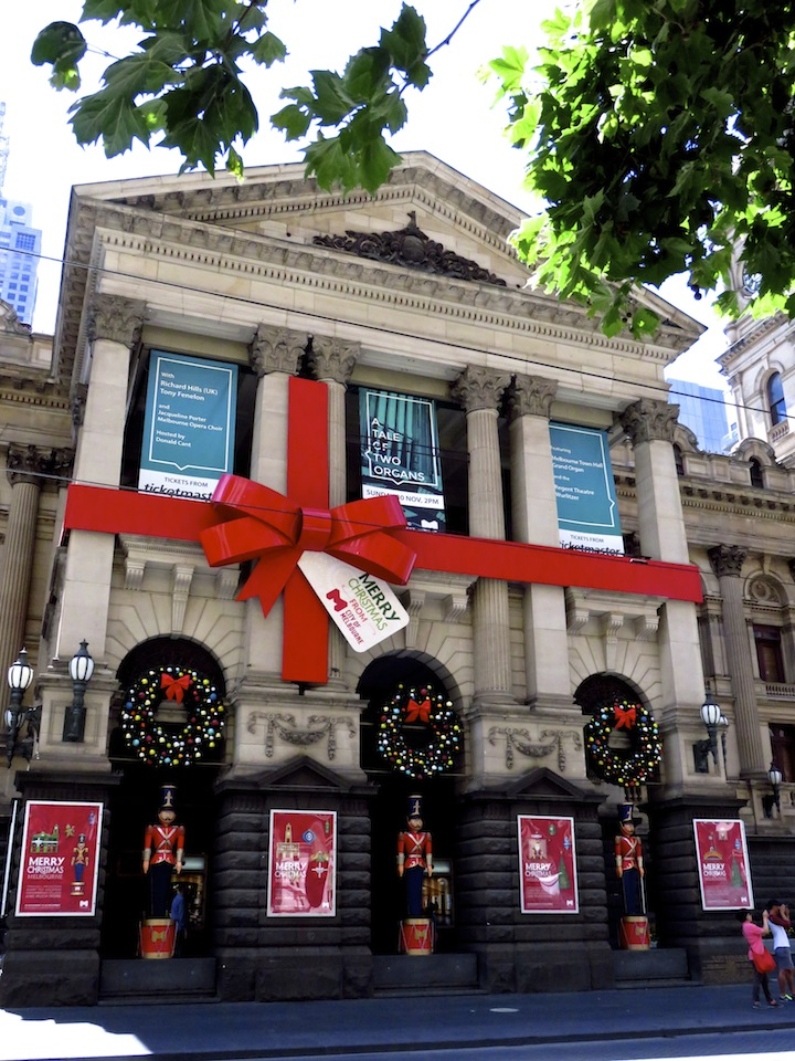 Melbourne-Town-Hall-Christmas