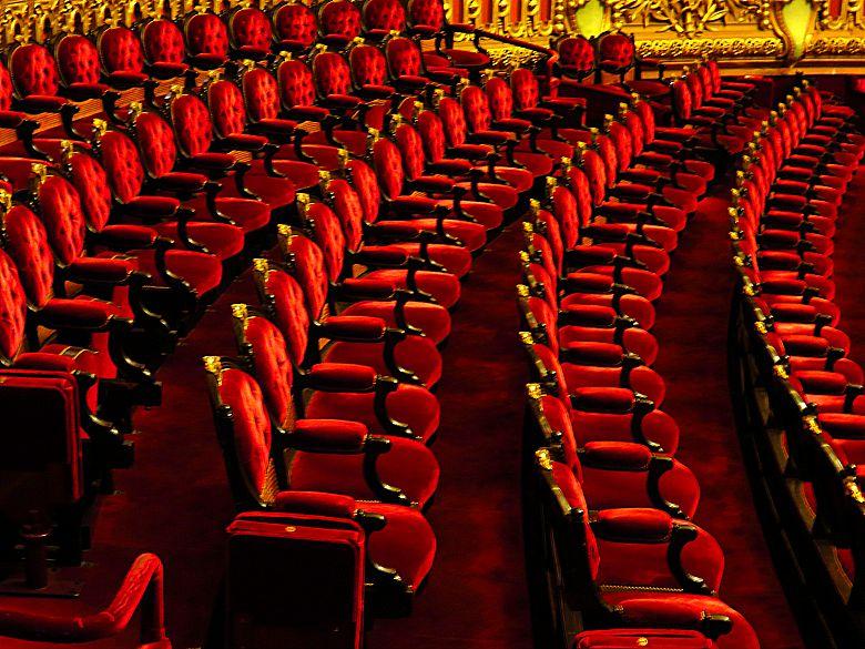 Fauteuils Opéra Garnier