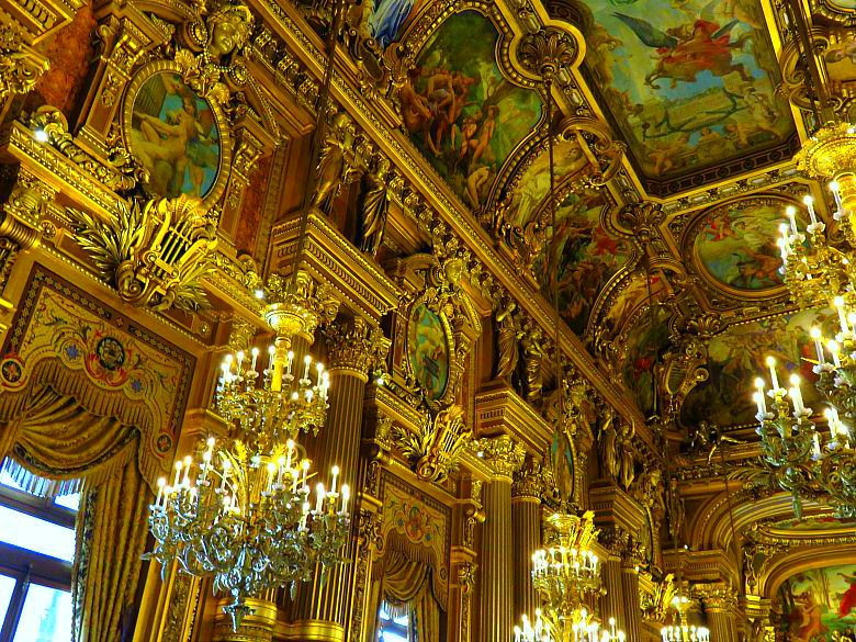 Grand Foyer In English : Visiter l opéra garnier cups of english tea