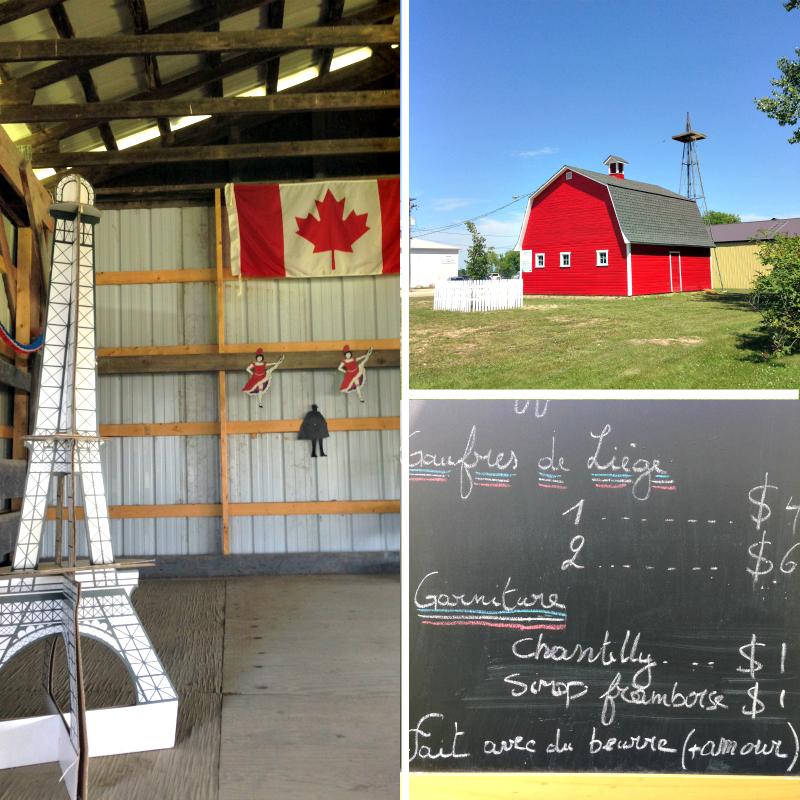 14 juillet Saint Claude Manitoba