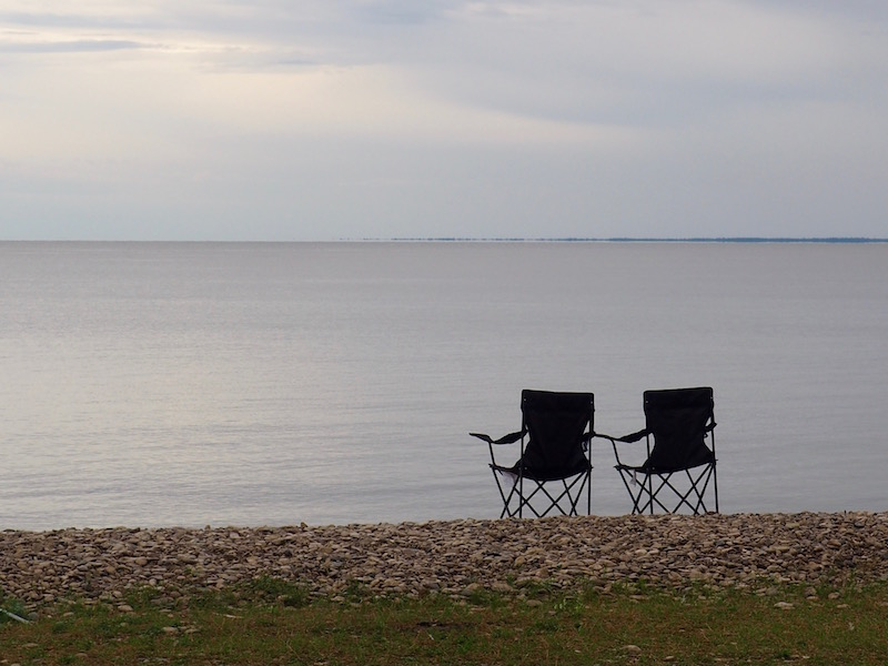 Chairs Hecla lake Winnipeg