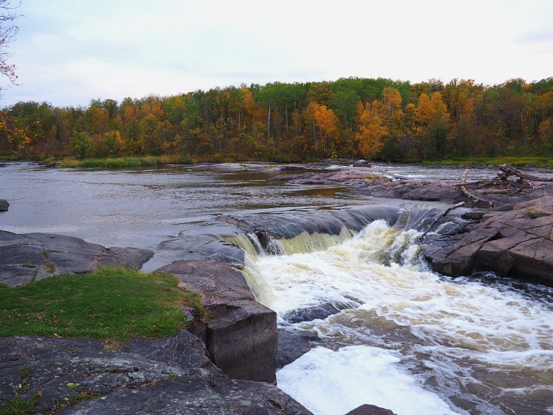 Whitemouth Fall Seven Sisters Manitoba