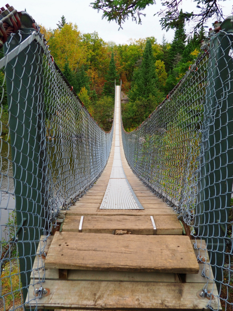 Pinawa Suspension Bridge