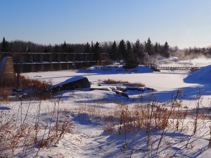 Old Dam Pinawa Winter
