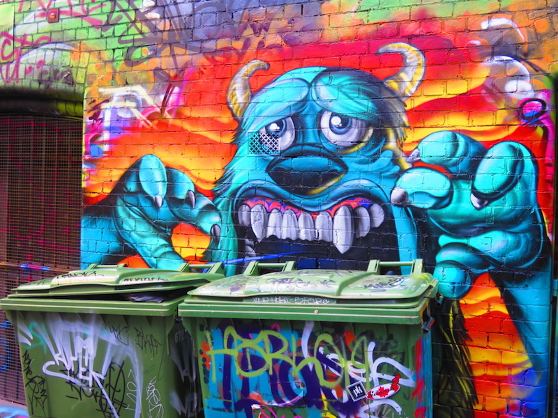 Hosier Lane Street Art Melbourne