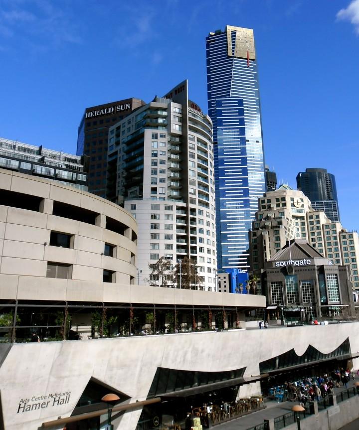 Melbourne Yarra Flinders Street