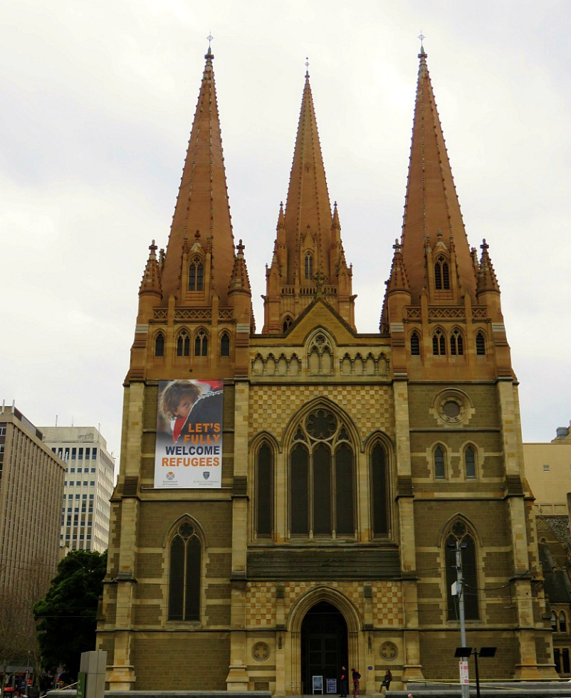 St Paul Cathedral Melbourne