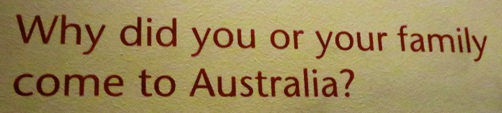 Immigration Museum Melbourne Why