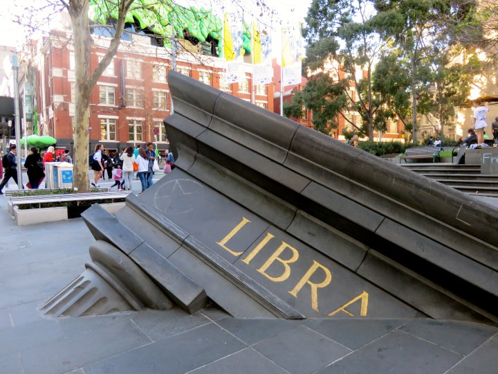 Melbourne insolite Library
