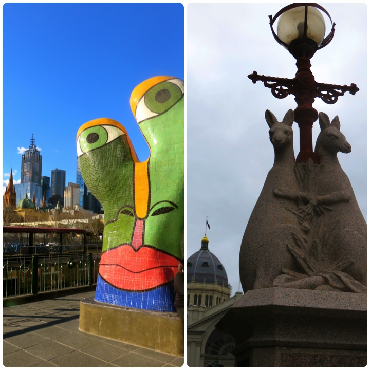 Melbourne insolite Picasso Kangourous