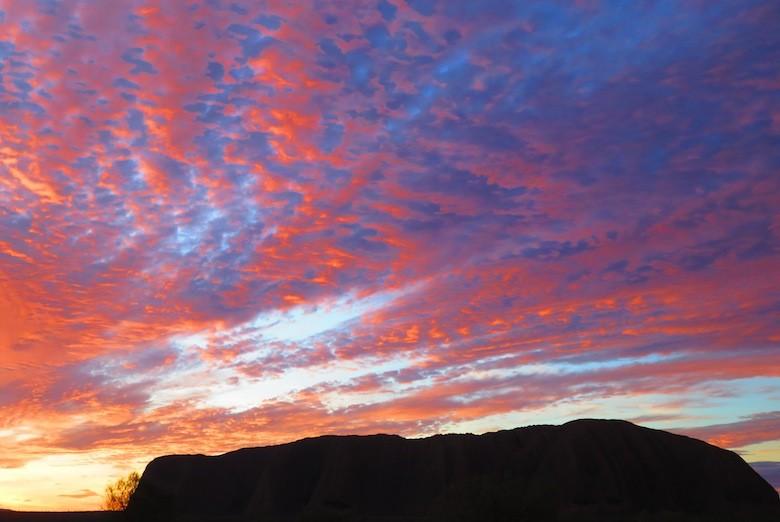 uluru-sunset