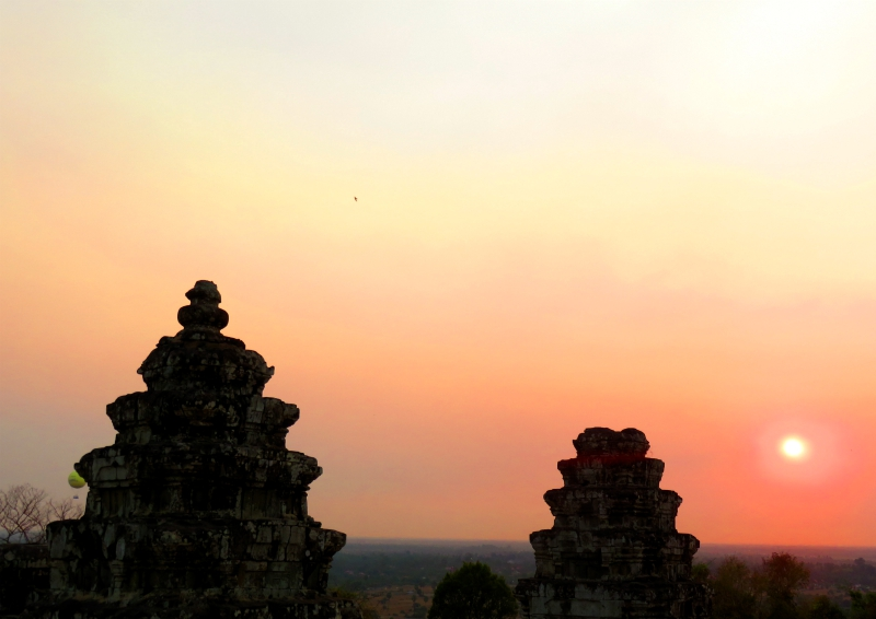 Sunset Bakheng Angkor