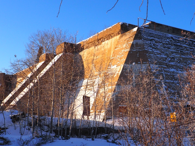 Pinawa Old Dam Winter