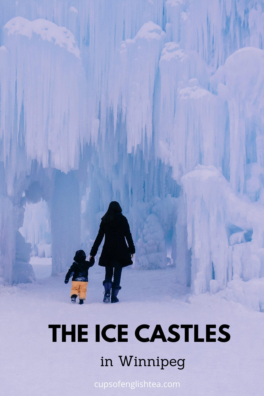 Ice Castles in Winnipeg