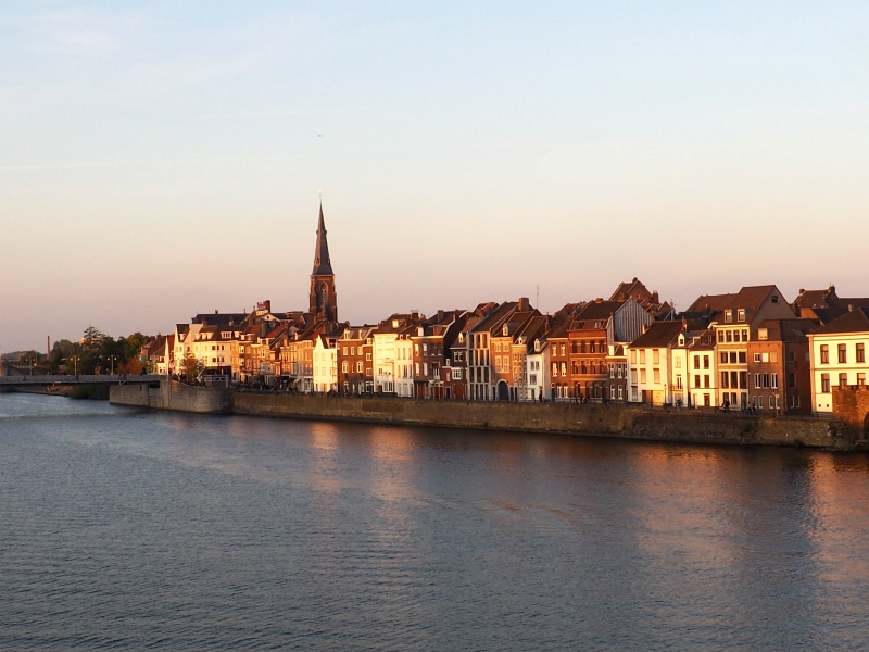 Maastricht golden hour