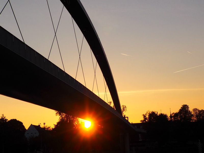Sunset Bridge Maastricht