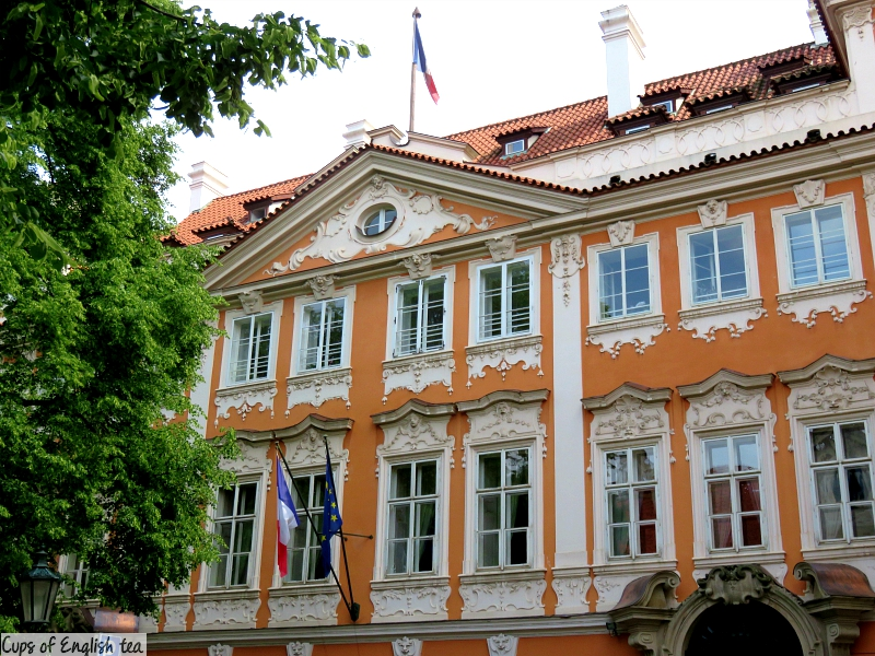 Prague ambassade de France