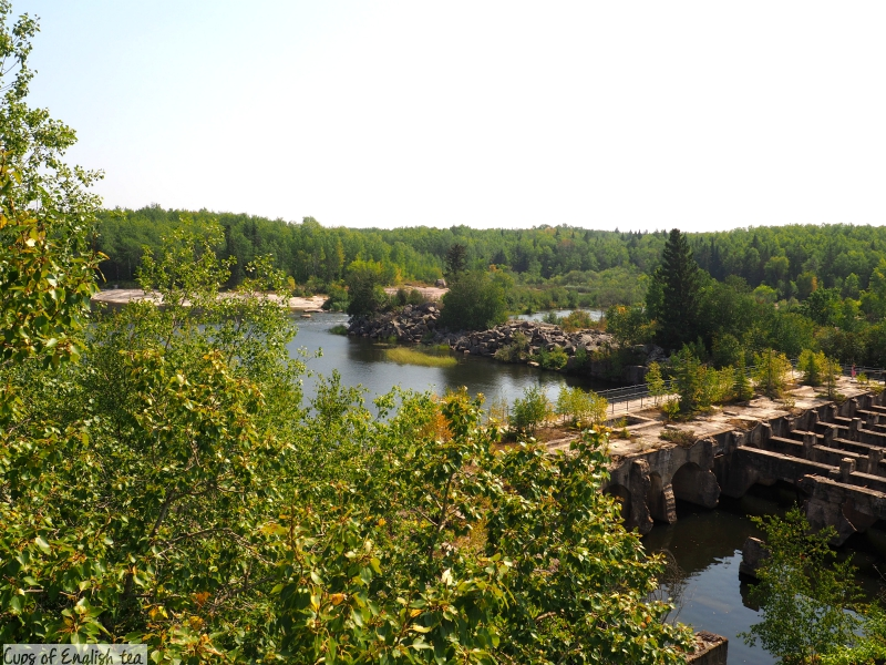 Pinawa Old Dam summer