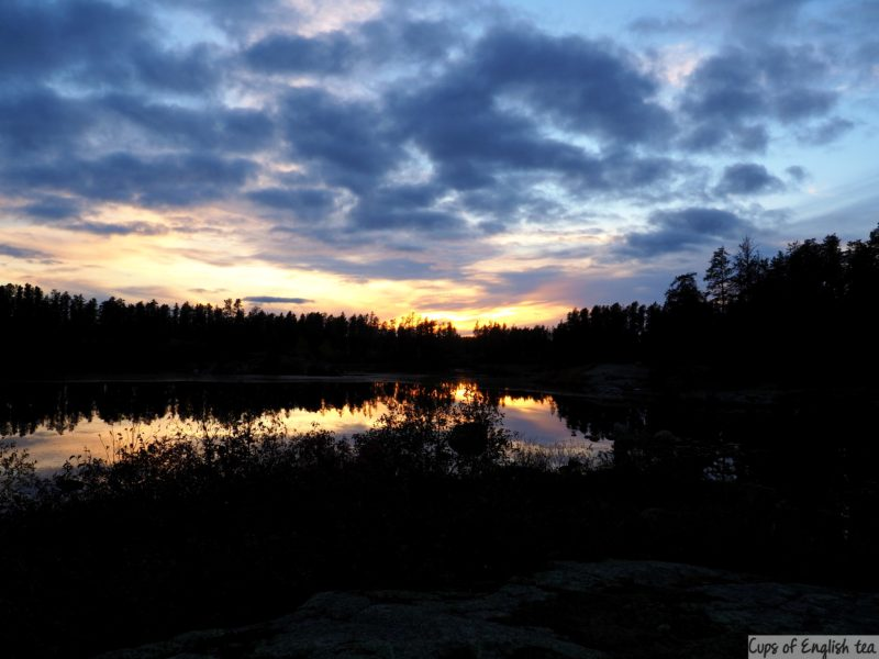 Sunset Whiteshell