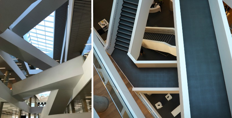 Halifax Library Stairs